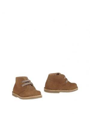 Полусапоги и высокие ботинки OCA-LOCA. Цвет: коричневый