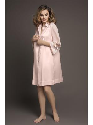 Ночная сорочка Laete. Цвет: персиковый