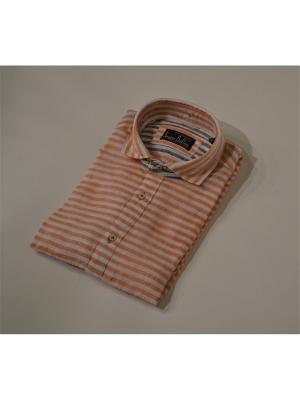 Сорочка Sergio Bellini. Цвет: оранжевый