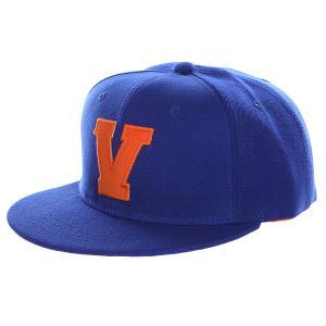 Бейсболка с прямым козырьком  Abc Royal-v TrueSpin. Цвет: синий