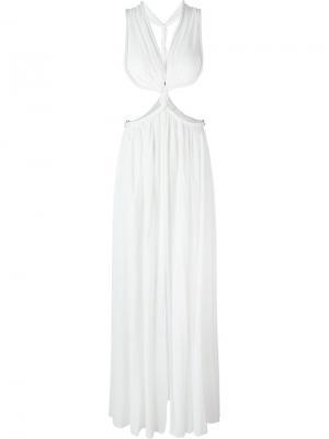 Вечернее платье Jay Ahr. Цвет: белый