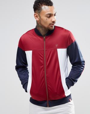Your Own Спортивная куртка со вставками. Цвет: красный