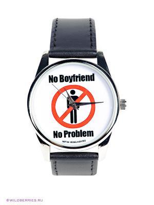 Часы Нет парня - проблемы Mitya Veselkov. Цвет: черный, белый, красный