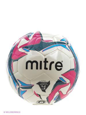 Мяч футбольный MITRE PRO FUTSAL HYPERSEAM. Цвет: черный, голубой, розовый, белый