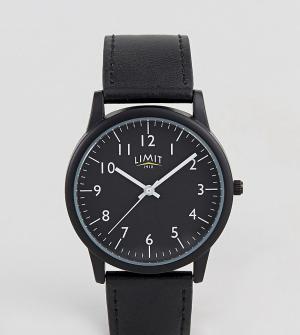 Limit Черные часы эксклюзивно для ASOS. Цвет: черный