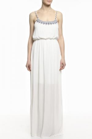 Платье Mix Ray. Цвет: белый