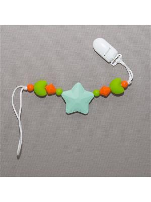Игрушка-подвеска Краски лета. Цвет: светло-зеленый, серо-зеленый, оранжевый