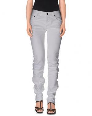 Джинсовые брюки LES HOMMES - FEMME. Цвет: белый