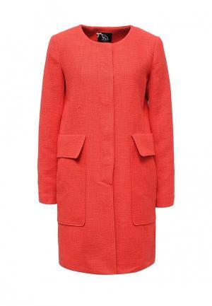 Пальто Sinequanone. Цвет: красный