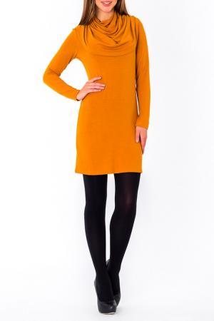 Платье S&A style. Цвет: горчица