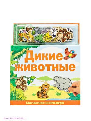 Игра Дикие животные Магнитные книжки. Цвет: зеленый, оранжевый