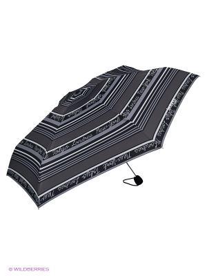 Зонты Isotoner. Цвет: белый, серый, черный