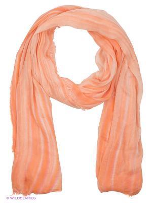 Палантин Модные истории. Цвет: оранжевый