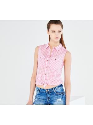 Блузка Reserved. Цвет: бледно-розовый