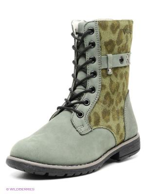 Ботинки Vitacci. Цвет: темно-зеленый