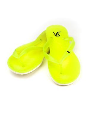 Шлепанцы  женские VSWorld VS. Цвет: зеленый, белый