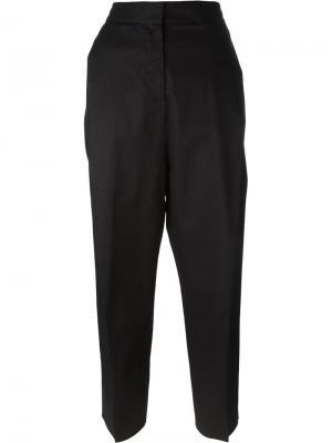 Укороченные брюки Alberto Biani. Цвет: чёрный