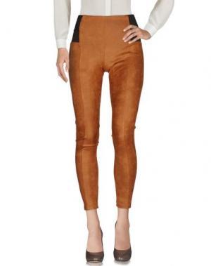 Повседневные брюки NO SECRETS. Цвет: верблюжий