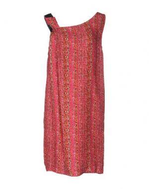 Короткое платье ATTIC AND BARN. Цвет: пурпурный