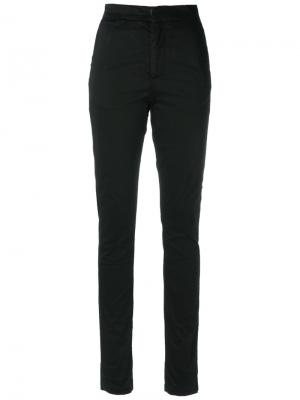 High waist skinny trousers Amapô. Цвет: чёрный