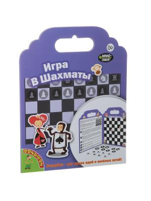 Набор наклеек Нано-стикер Игра в Шахматы, Bondibon, 19x24 см., арт. TP-P10 BONDIBON. Цвет: сиреневый