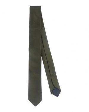 Галстук TONELLO. Цвет: зеленый-милитари
