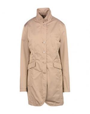 Легкое пальто MABRUN. Цвет: светло-коричневый