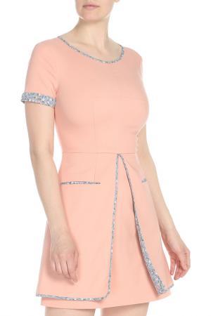 Платье Isabel Garcia. Цвет: almost apricot, multicolor