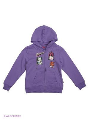 Толстовка Monster High. Цвет: малиновый