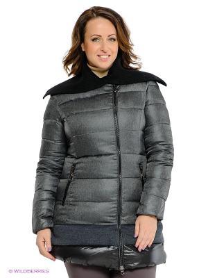 Пальто Neohit. Цвет: серый, черный