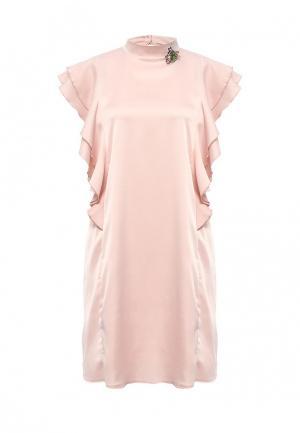 Платье Miss by Valentina. Цвет: розовый