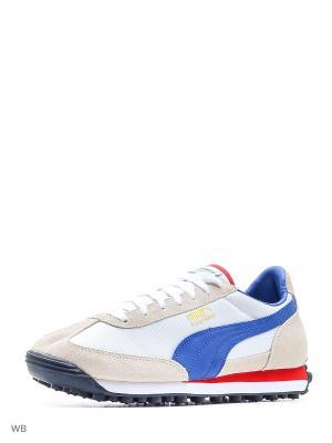 Кроссовки Easy Rider Puma. Цвет: белый, синий, бежевый