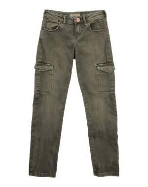 Джинсовые брюки SCOTCH R'BELLE. Цвет: зеленый-милитари