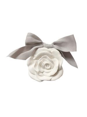Ароматическая гипсовая подвеска  аромат Античная роза Mathilde M. Цвет: белый