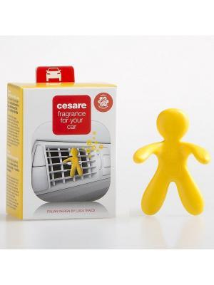 Ароматизатор для автомобиля/CESARE/желтый/VANILLA Mr&Mrs Fragrance. Цвет: желтый