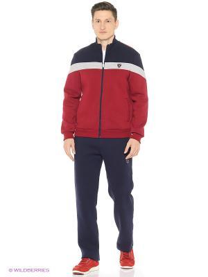Спортивный костюм RED-N-ROCK'S. Цвет: бордовый