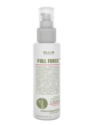 Крем-кондиционер против ломкости с экстрактом бамбука 100 мл Ollin Professional. Цвет: белый