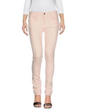 Джинсовые брюки CIMARRON. Цвет: розовый