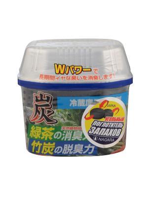 Nagara Древесный уголь дл устранени запаха в холодильнике 180 гр. Цвет: синий