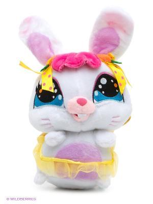Мягкая игрушка Мульти-пульти. Цвет: белый, черный, сиреневый, розовый