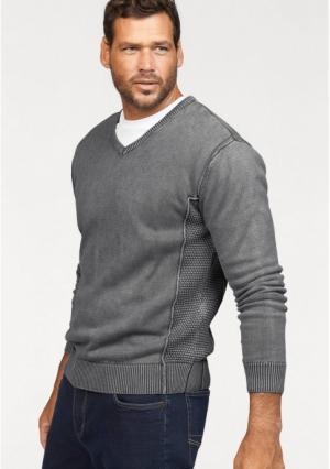 Пуловер MANS WORLD MAN'S. Цвет: серый