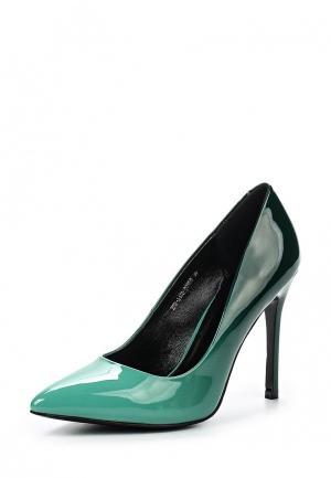 Туфли Zenden Woman. Цвет: зеленый