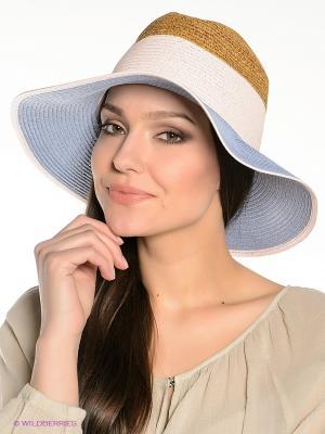 Шляпа Canoe. Цвет: голубой, коричневый