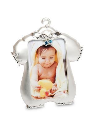 Фоторамка Маленький принц 5*8 Bellezza casa. Цвет: серебристый