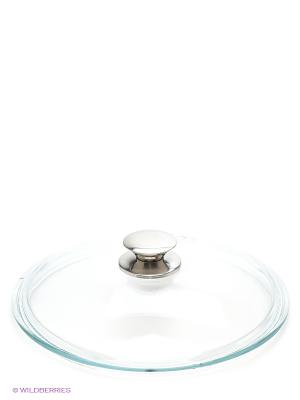 Крышка стеклянная с металлической ручкой Victoria. Цвет: прозрачный