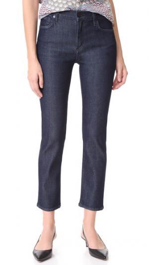 Прямые облегающие джинсы Semi Fit GOLDSIGN. Цвет: чернильный