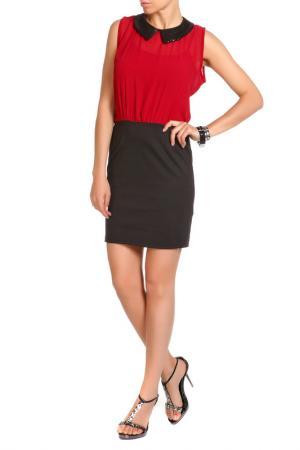 Платье LEIDIRO. Цвет: черный, бордовый
