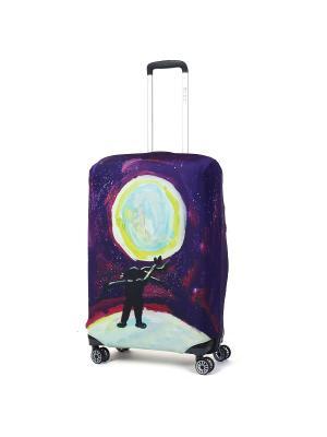 Чехол для чемодана Mettle, Модель Serenity, Размер  M Mettle. Цвет: черный, желтый, индиго