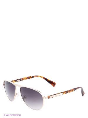Солнцезащитные очки BLD 1402 203 Baldinini. Цвет: золотистый, серый