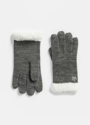 Теплые перчатки с экомехом OSTIN